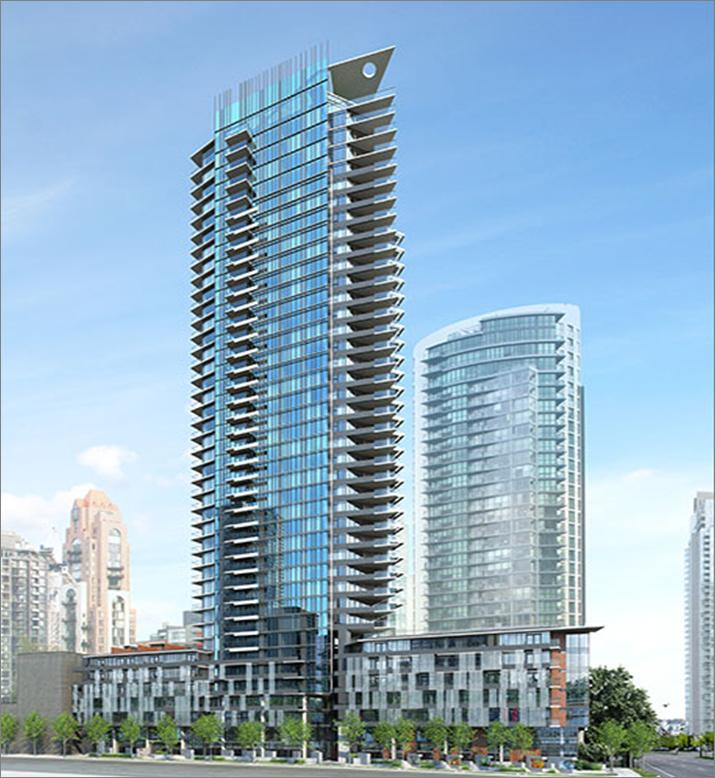 Main Photo: 515 1372 Seymour Street in Vancouver: Yaletown Condo for sale (Vancouver West)  : MLS® # R2102713