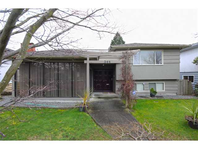 Main Photo: 344 W 62ND Avenue in Vancouver: Marpole House for sale (Vancouver West)  : MLS® # V994542