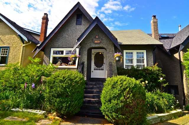 Main Photo: 3635 W 21ST Avenue in Vancouver: Dunbar House for sale (Vancouver West)  : MLS® # V1011902