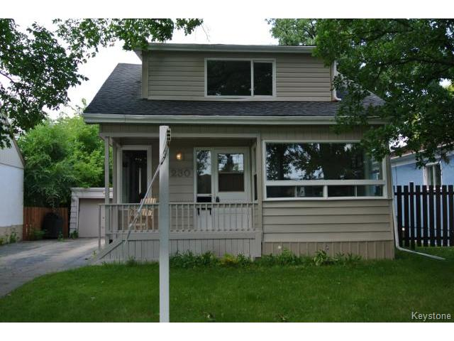 Main Photo: Albany Street in Winnipeg: Residential for sale : MLS® # 1317020