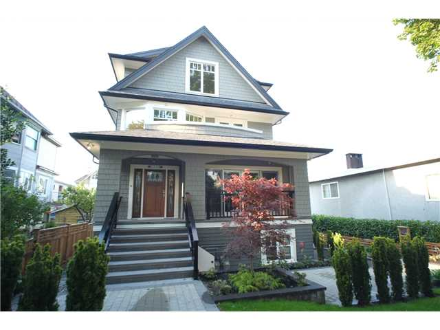 Main Photo: 2346 W 8TH Avenue in Vancouver: Kitsilano Townhouse  (Vancouver West)  : MLS® # V1081681