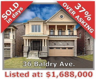 Main Photo: 36 Baldry Ave in Vaughan: Patterson Freehold for sale