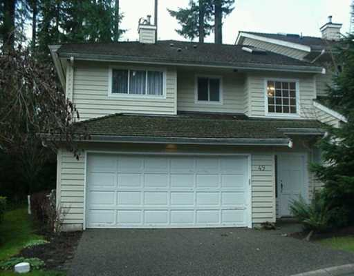 "Main Photo: 49 DEERWOOD PL in Port Moody: Heritage Mountain Townhouse for sale in ""Heritage Green"" : MLS®# V573490"