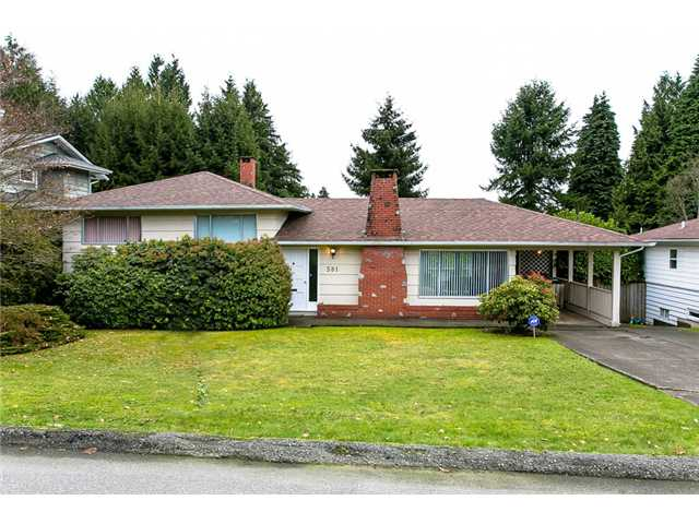 Main Photo: 581 SILVERDALE Place in North Vancouver: Upper Delbrook House for sale : MLS®# V986094