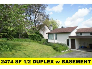 Main Photo: 4605 Grassmere Street in Burnaby: Forest Glen BS House 1/2 Duplex for sale (Burnaby South)  : MLS® # V893124