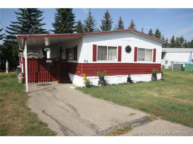 Main Photo: 85 Parkside Estates in Red Deer: RR Normandeau Residential Mobile for sale : MLS® # CA0022902