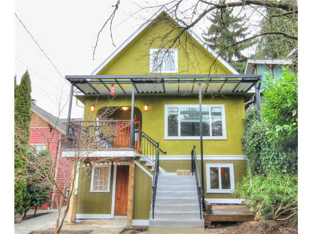Main Photo: 3576 MARSHALL ST in Vancouver: Grandview VE House for sale (Vancouver East)  : MLS® # V1051519