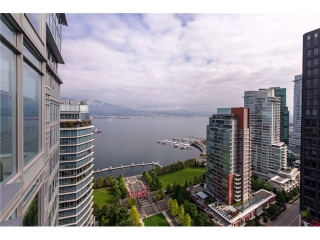 "Main Photo: 2804 1205 W HASTINGS Street in Vancouver: Coal Harbour Condo for sale in ""CIELO"" (Vancouver West)  : MLS® # V1026183"