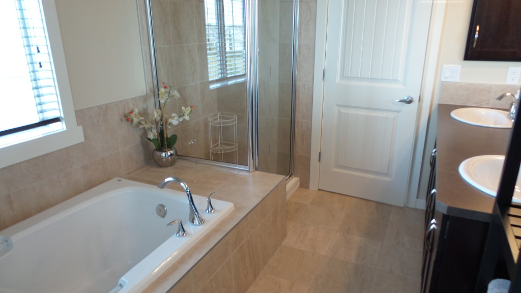 Master ensuite 5 piece bathroom