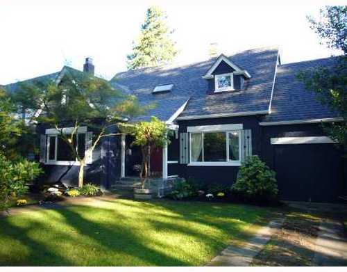 Main Photo: 3821 WEST BROADWAY in Vancouver West: Point Grey Home for sale ()  : MLS® # V670161