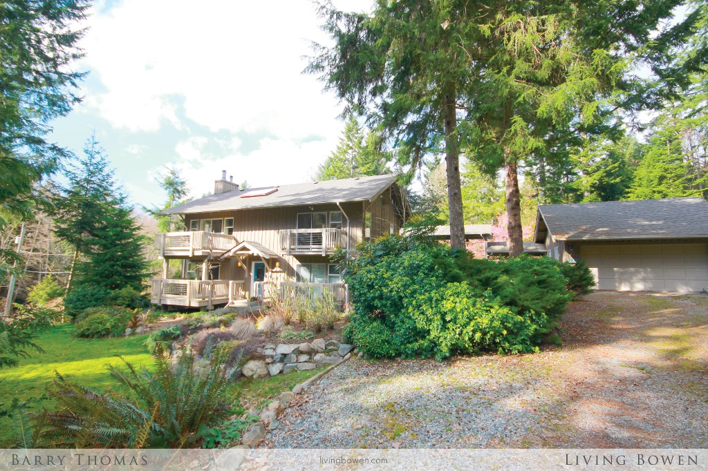 Main Photo: 1662 Adams Road: Bowen Island House for sale : MLS® # V1054303