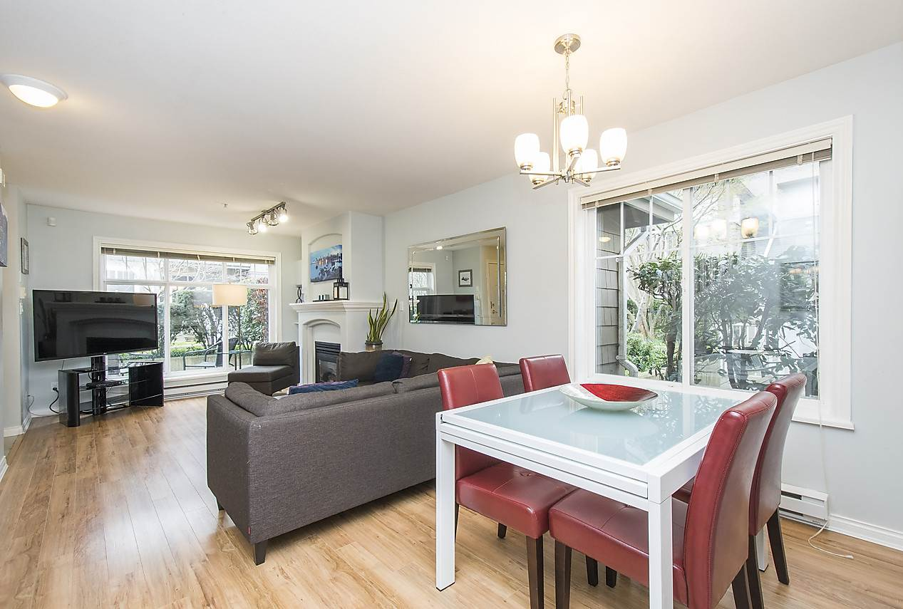 Photo 10: 1328 MAHON AVENUE in North Vancouver: Central Lonsdale Townhouse for sale : MLS® # R2156696
