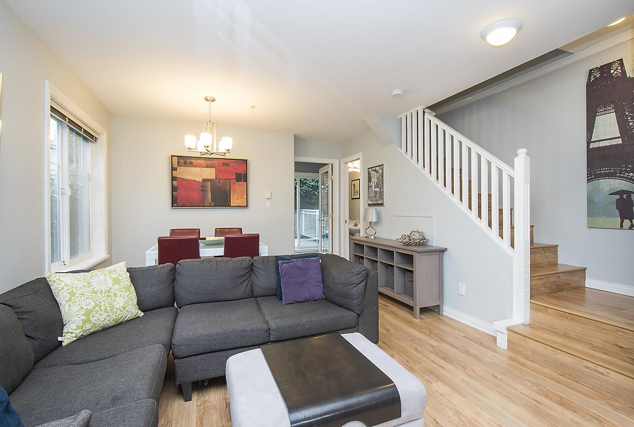 Photo 4: 1328 MAHON AVENUE in North Vancouver: Central Lonsdale Townhouse for sale : MLS® # R2156696