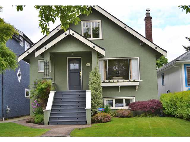 Main Photo: 153 W 20TH AV in Vancouver: Cambie House for sale (Vancouver West)  : MLS® # V1065307
