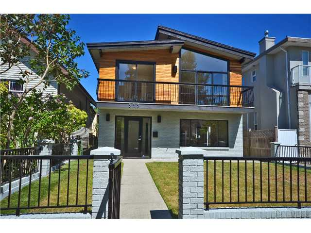 Main Photo: 535 E 47TH AV in Vancouver: Fraser VE House for sale (Vancouver East)  : MLS® # V1021851