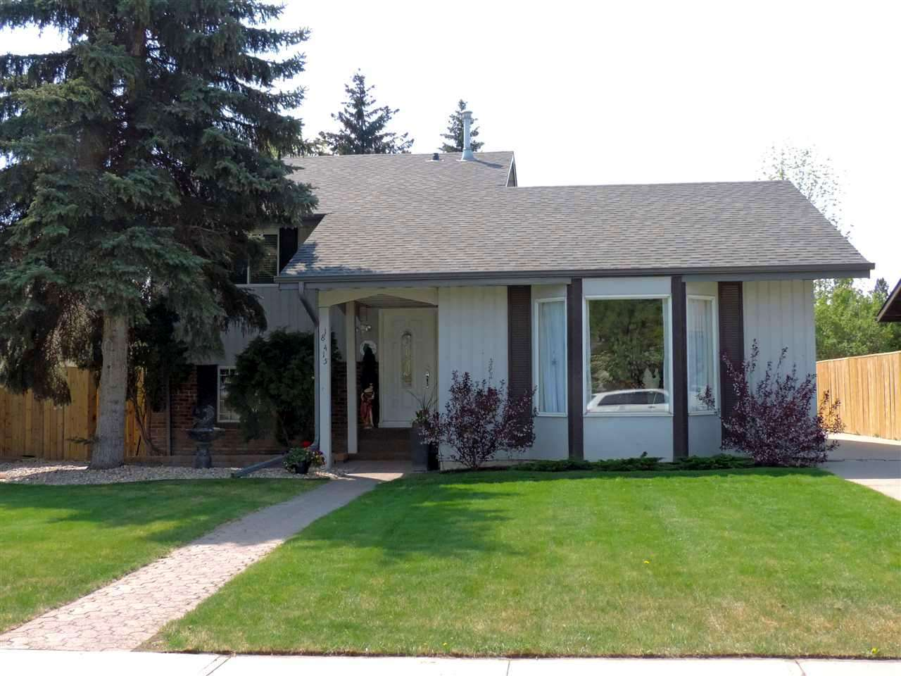 Main Photo: 18415 82 AV NW in Edmonton: Zone 20 House for sale : MLS® # E4020994