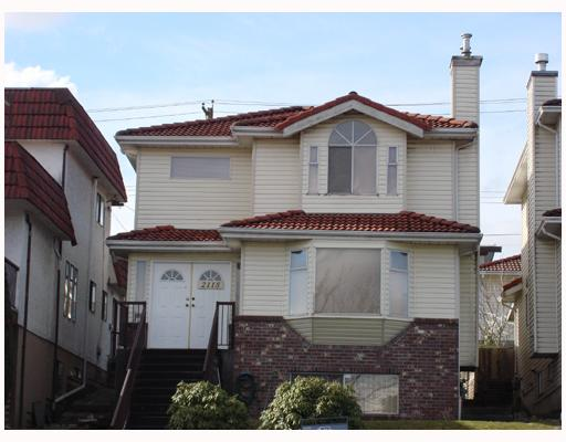 Main Photo: 2115 RUPERT Street in Vancouver: Renfrew VE House for sale (Vancouver East)  : MLS(r) # V747891