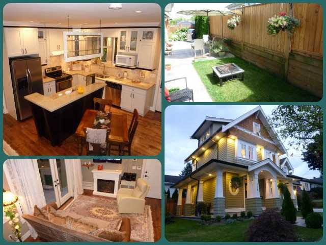 Main Photo: Beautiful Heritage Style home Newly Built in 2009 in Desirable Glenbrooke North New Westminster