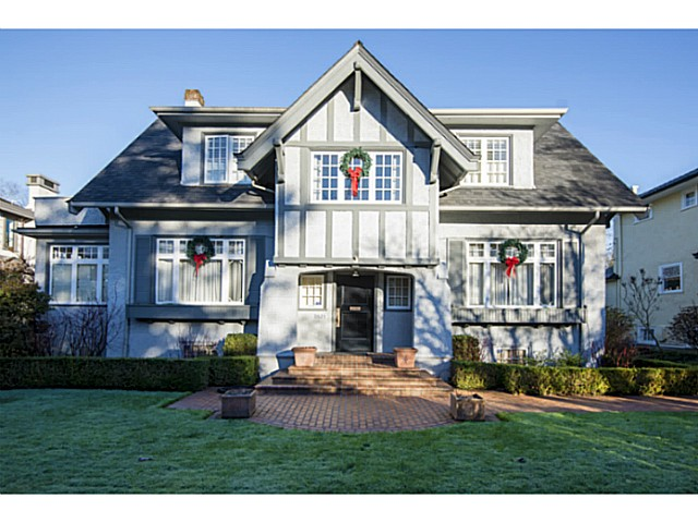 Main Photo: 1625 W 28TH AV in Vancouver: Shaughnessy House for sale (Vancouver West)  : MLS®# V1097713