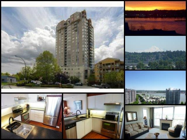 Main Photo: 1802 10 LAGUNA COURT in New Westminster: Quay Condo for sale : MLS®# R2067564
