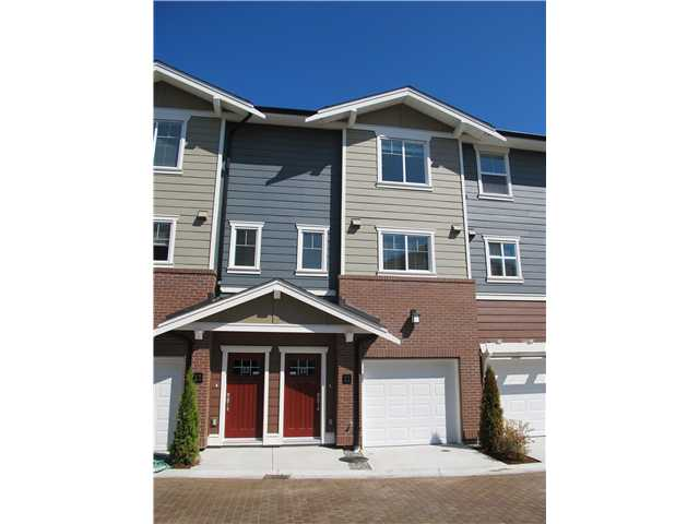 "Main Photo: 11 9580 ALBERTA Road in Richmond: Garden City Townhouse for sale in ""PARKSIDE ESTATES"" : MLS® # V947063"