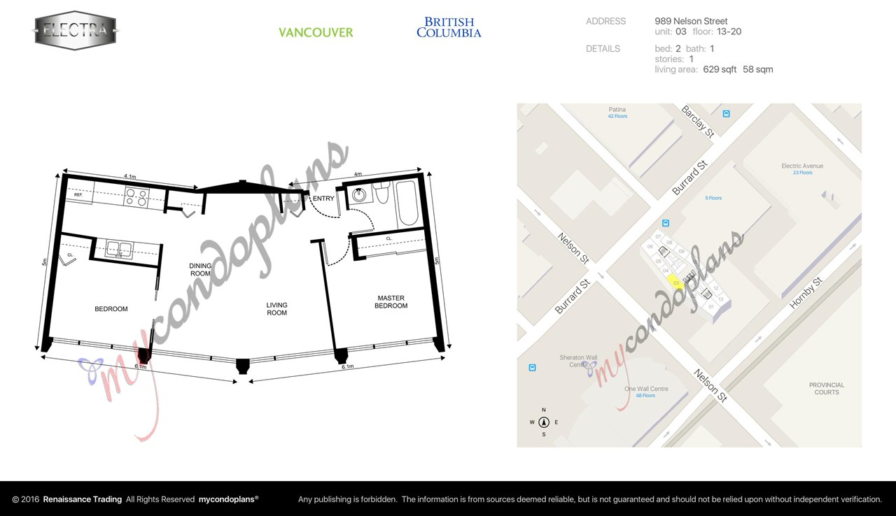 Photo 9: 2003 989 NELSON STREET in Vancouver: Downtown VW Condo for sale (Vancouver West)  : MLS(r) # R2107503
