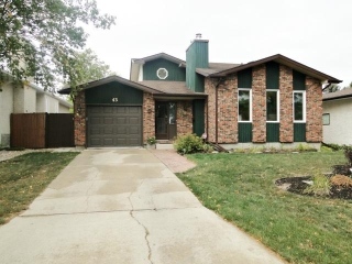 Main Photo: 43 Allendale Drive in WINNIPEG: Fort Garry / Whyte Ridge / St Norbert Residential for sale (South Winnipeg)  : MLS® # 1219639