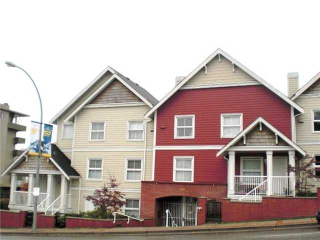 Main Photo: 10 168 6TH Street in New Westminster: Uptown NW Townhouse for sale : MLS® # V1003099