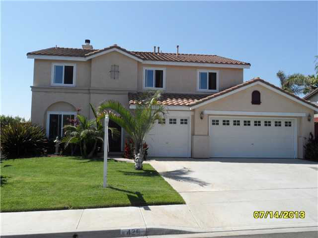 Main Photo: OCEANSIDE House for sale : 4 bedrooms : 426 Shadow Tree Drive