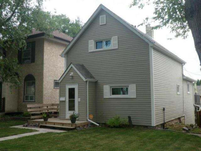 Main Photo: 232 Kitson Street in WINNIPEG: St Boniface Residential for sale (South East Winnipeg)  : MLS® # 1214325