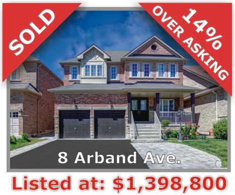 Main Photo: 8 Arband Avenue in Vaughan: Patterson Freehold for sale
