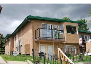Main Photo: 3 7728 HUNTERVIEW Drive NW in CALGARY: Huntington Hills Townhouse for sale (Calgary)  : MLS(r) # C3528272