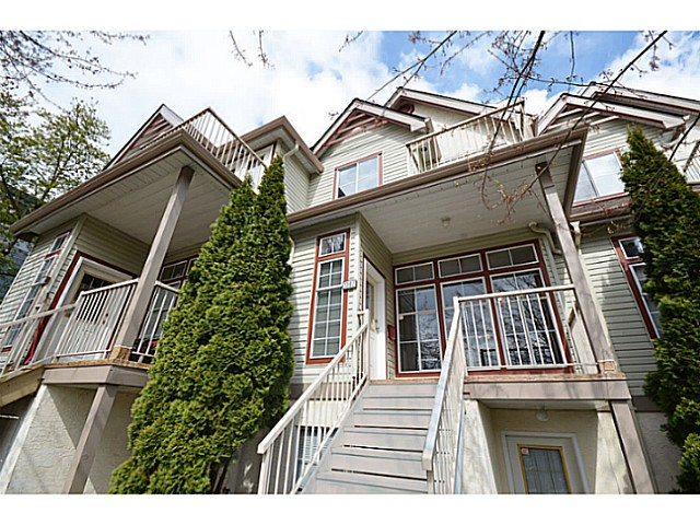 Main Photo: 1307 BRUNETTE AV in Coquitlam: Maillardville Townhouse for sale : MLS® # V1006092