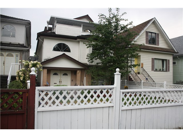 Main Photo: 630 E KING EDWARD AV in Vancouver: Fraser VE House for sale (Vancouver East)  : MLS® # V1022295