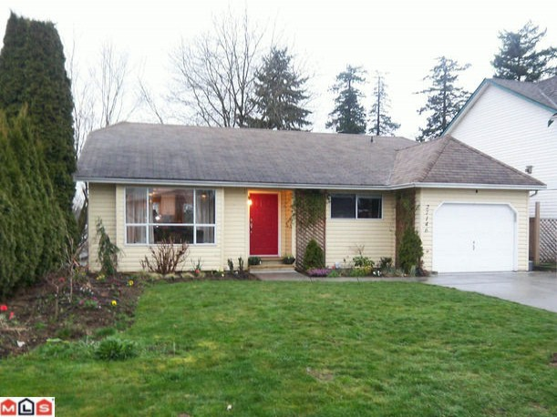 "Main Photo: 27146 33RD Avenue in Langley: Aldergrove Langley House for sale in ""PARKSIDE"" : MLS® # F1207490"