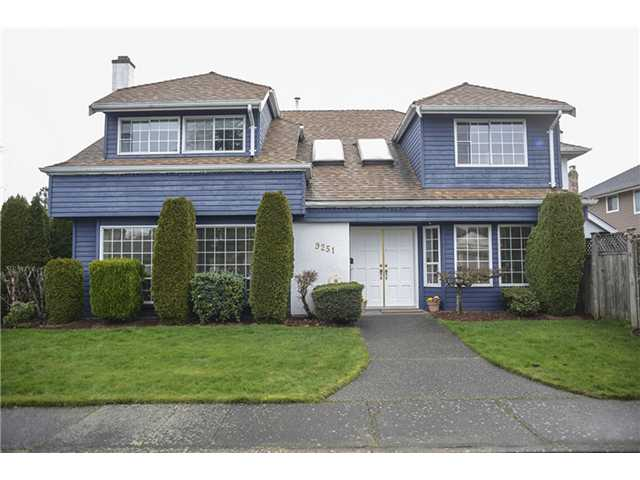 Main Photo: 9251 EVANCIO Crescent in Richmond: Lackner House for sale : MLS® # V991154