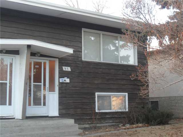 Main Photo: 37 GALBRAITH Drive SW in CALGARY: Glamorgan Residential Attached for sale (Calgary)  : MLS® # C3585790