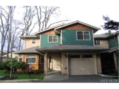 Main Photo: 3 1241 Santa Rosa Avenue in VICTORIA: SW Strawberry Vale Townhouse for sale (Saanich West)  : MLS® # 197014