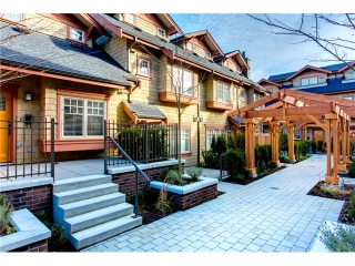 Main Photo: 5946 Oak St. W. in Vancouver: Oakridge VW Townhouse for sale (Vancouver West)  : MLS®# V1000430