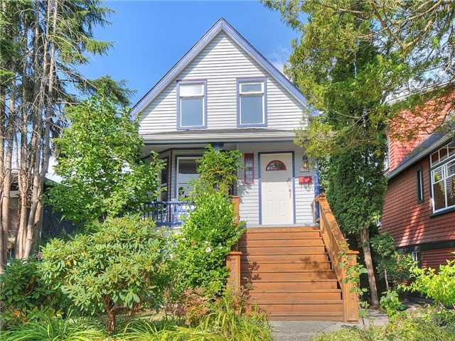 Main Photo: 749 E 38TH Avenue in Vancouver: Fraser VE House for sale (Vancouver East)  : MLS®# V973868