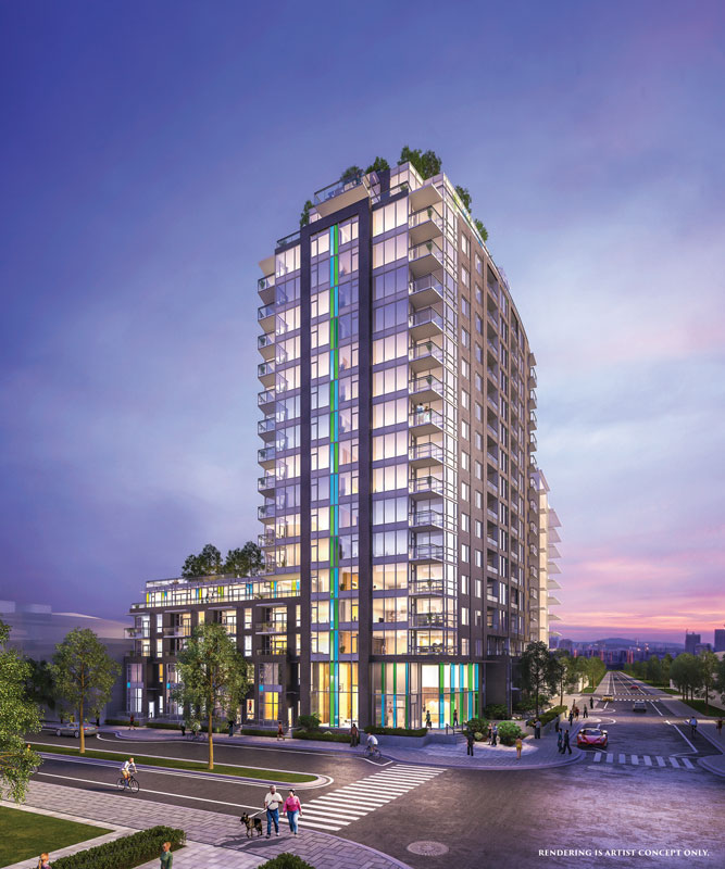 Main Photo: PINNACLE in Vancouver: False Creek Condo for sale (Vancouver West)  : MLS(r) # PRESALE