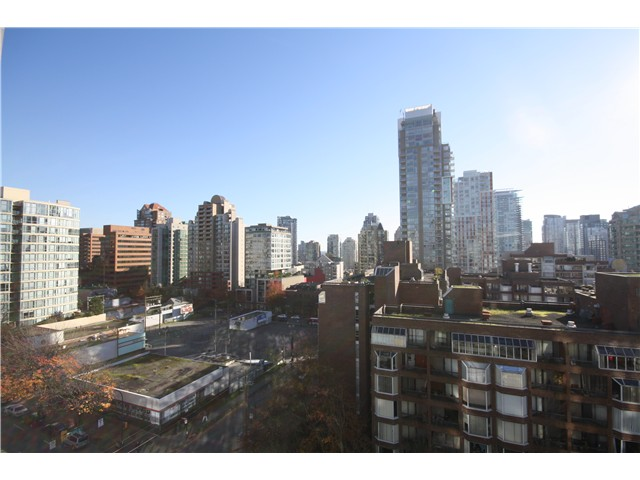 Main Photo: # 1205 1009 HARWOOD ST in Vancouver: West End VW Condo for sale (Vancouver West)  : MLS® # V1093940
