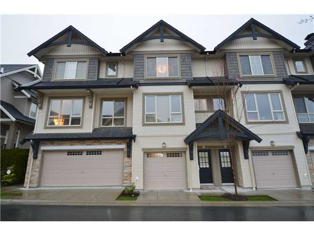 Main Photo: 78 1357 PURCELL Drive in Coquitlam: Westwood Plateau Townhouse for sale : MLS®# V939711