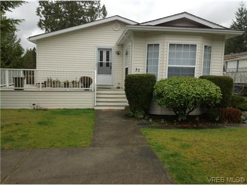 Main Photo: 31 2357 Sooke River Road in SOOKE: Sk Sooke River Manu Double-Wide for sale (Sooke)  : MLS(r) # 317642
