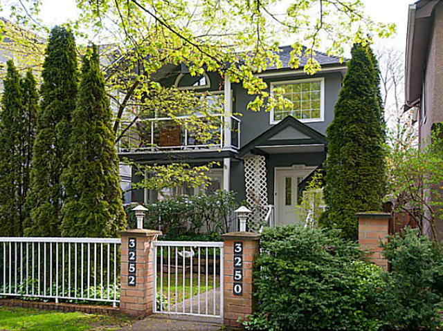 Main Photo: 3250 Quebec Street in Vancouver: Main Townhouse for sale (Vancouver East)  : MLS® # V1085881