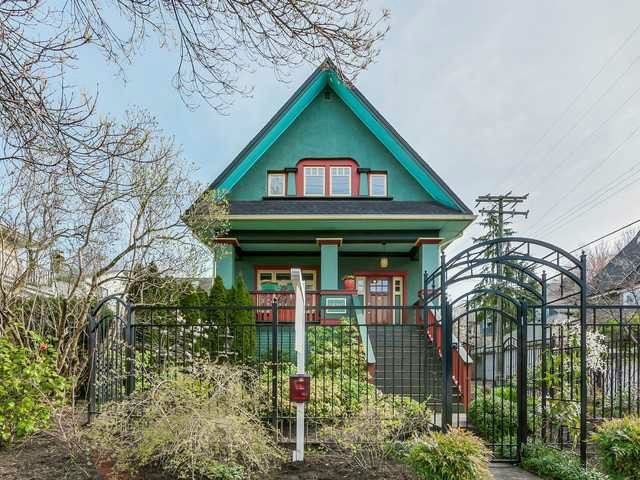 Main Photo: 2806 MANITOBA ST in Vancouver: Mount Pleasant VW House for sale (Vancouver West)  : MLS® # V1119582