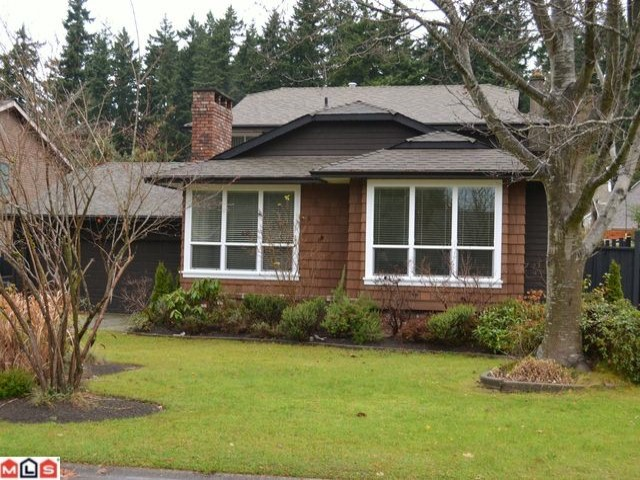 "Main Photo: 14461 19TH Avenue in Surrey: Sunnyside Park Surrey House for sale in ""THE GLENS"" (South Surrey White Rock)  : MLS® # F1227712"