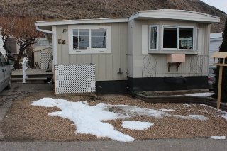 Main Photo: 16 1440 Ord Road in Kamloops: Brocklehurst Manufactured Home for sale : MLS(r) # New