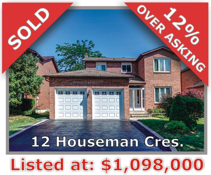 Main Photo: 12 Houseman Crescent in Richmond Hill: North Richvale Freehold for sale