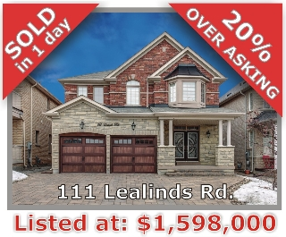 Main Photo: 111 Lealinds Rd in Vaughan: Patterson Freehold for sale